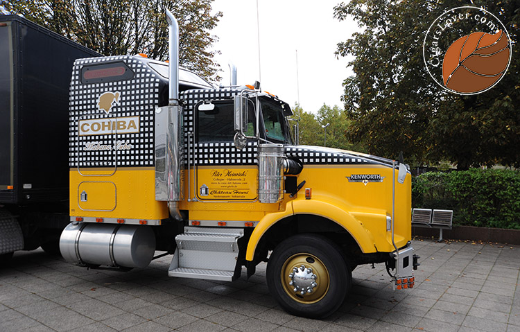 Cohiba truck