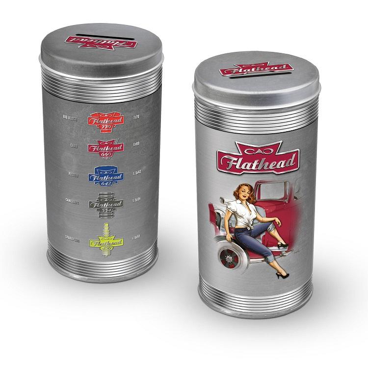 CAO Flathead tin
