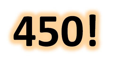 450 recensioni