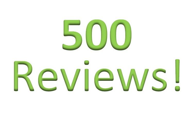 500 recensioni