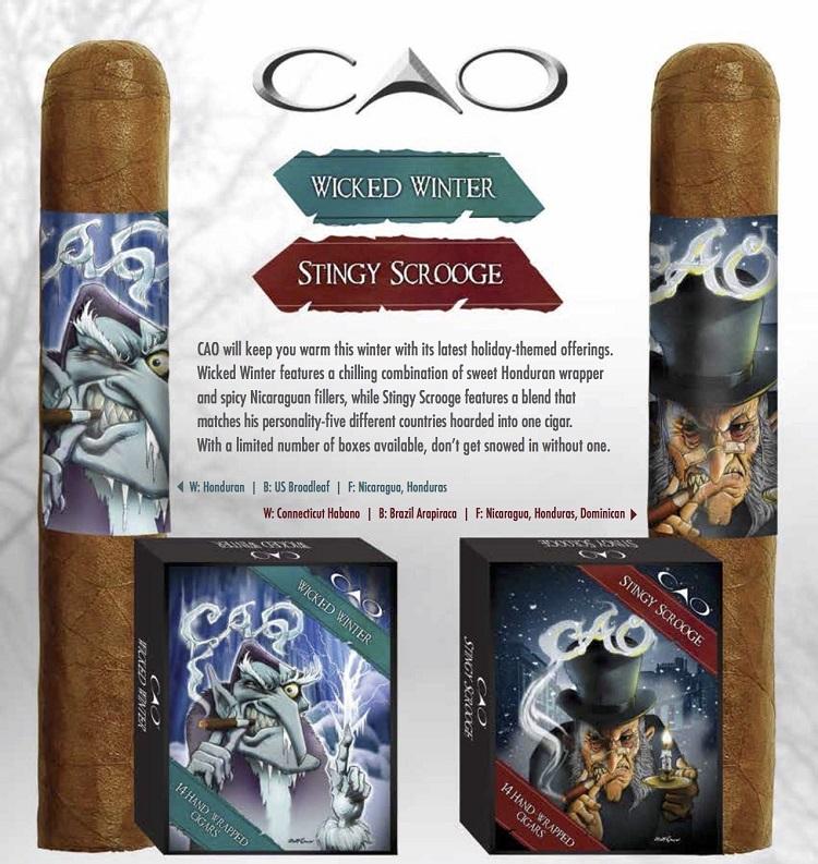 CAO Stingy Scrooge e Wicked Winter 3