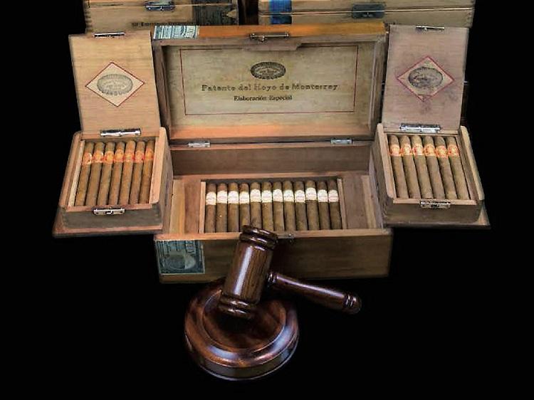 Cigar auction asta