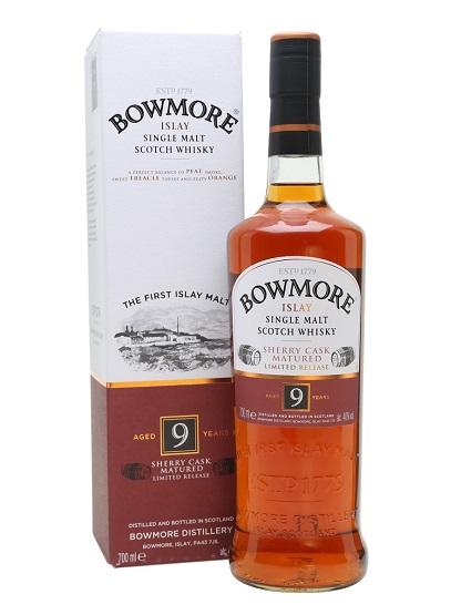 Bowmore 9 Sherry Casks Matured