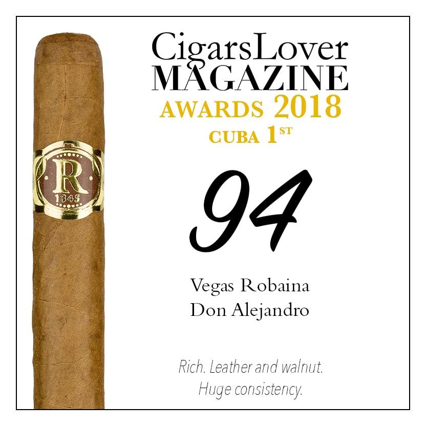 CigarsLover Magazine Awards 2018 Cuba