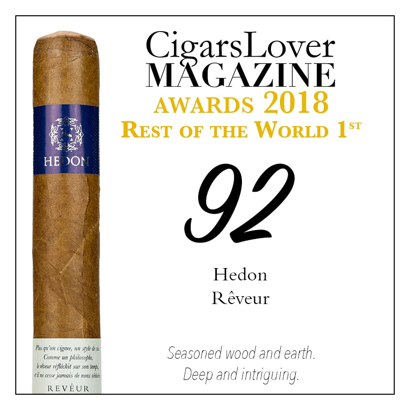 CigarsLover Magazine Awards 2018 Rest of the world