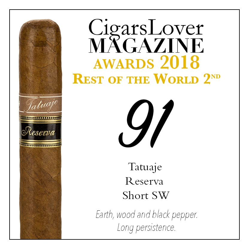 CigarsLover Magazine Awards 2018 Rest of the World