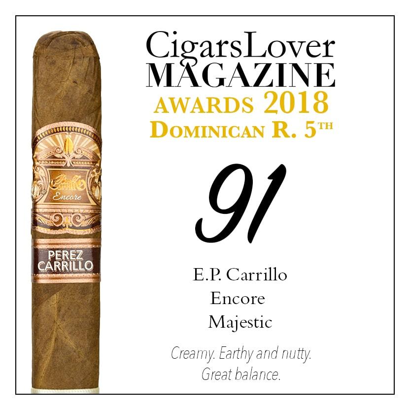CigarsLover Magazine Awards 2018 Dominican Republic EP Carrillo Majestic