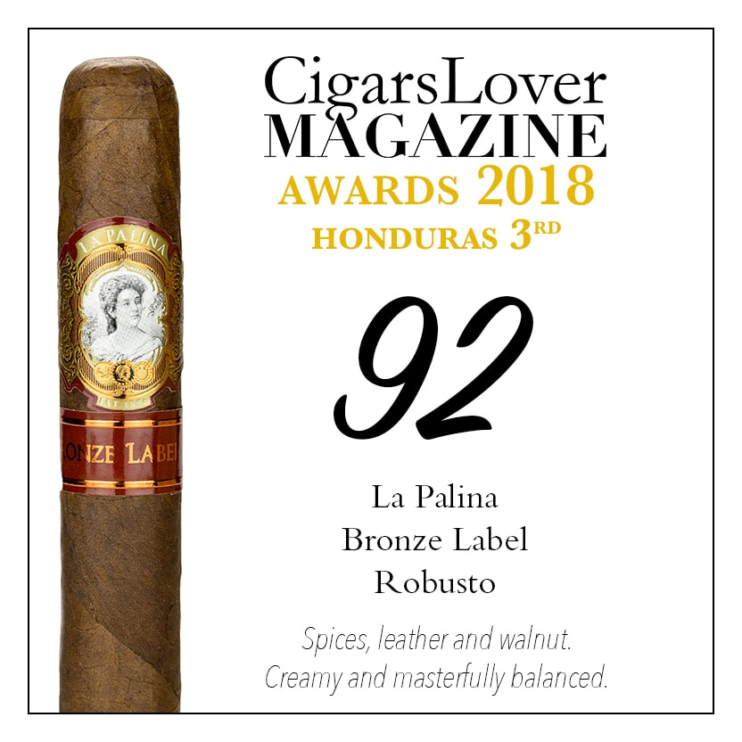 CigarsLover Magazine Awards 2018 Honduras