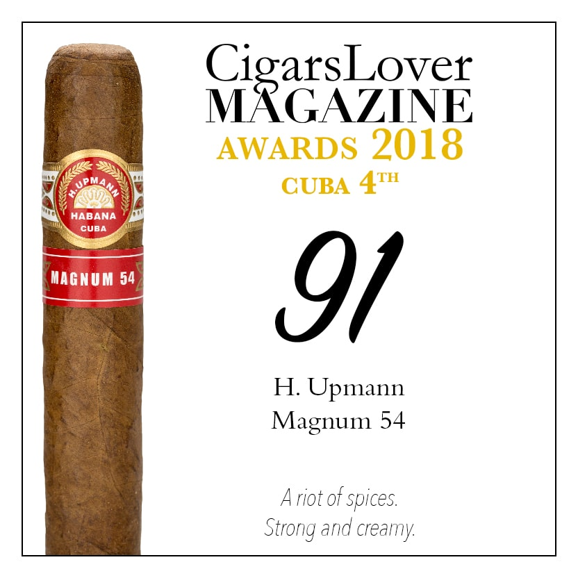CigarsLover Magazine awards top4 cuba