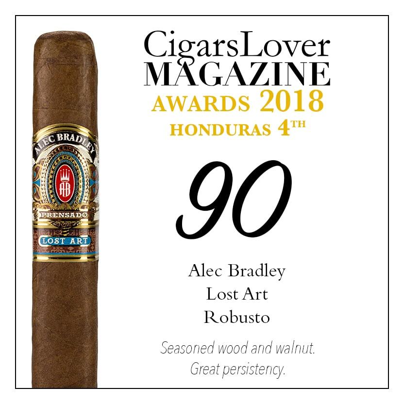 CigarsLover Magazine awards top4 honduras