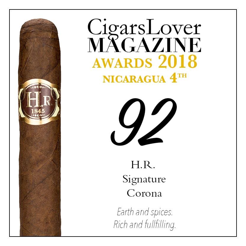 CigarsLover Magazine awards top4 nicaragua