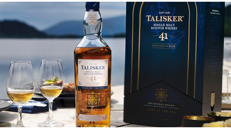 Diageo presenta il nuovo Talisker 41 Anni