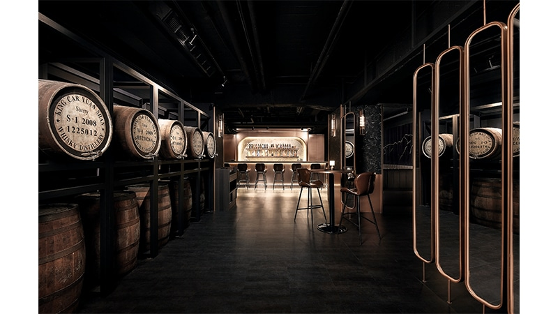 Kavalan apre il primo 'Cask Strength Whisky Bar'
