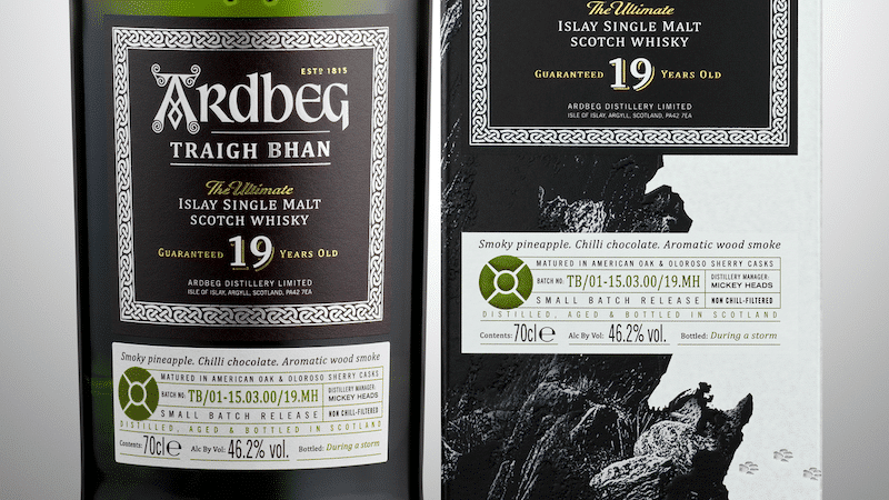 Ardbeg, the new Traigh Bhan 19 years old