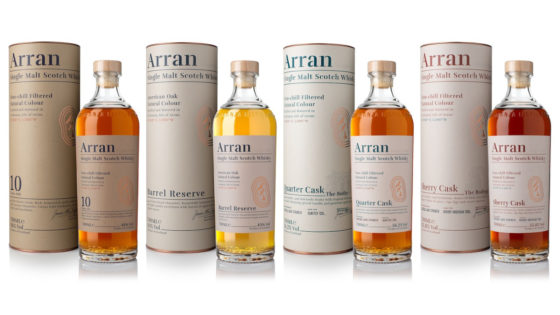 Nuovo packaging per Arran