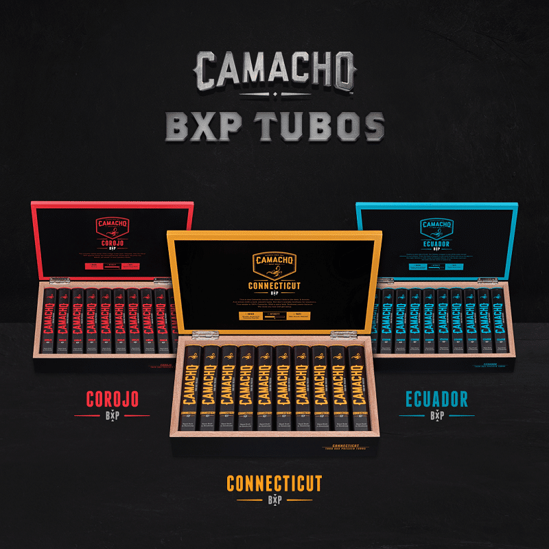 Camacho box-pressed (BXP) tubos