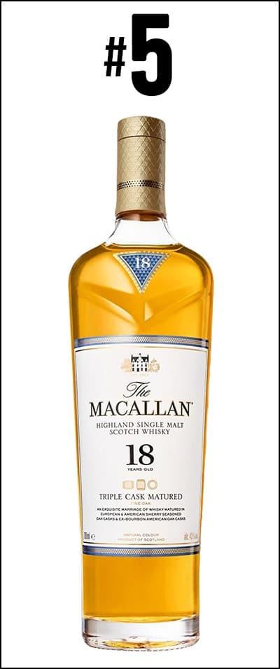 The Macallan 18 Years Old Triple Cask