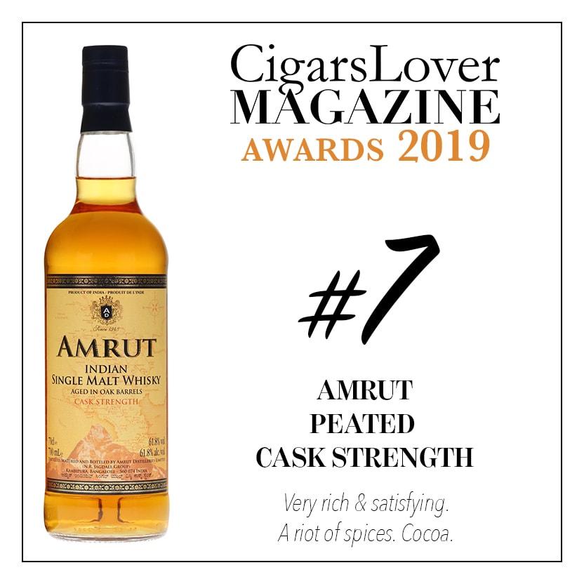 Amrut Peated Cask Strength