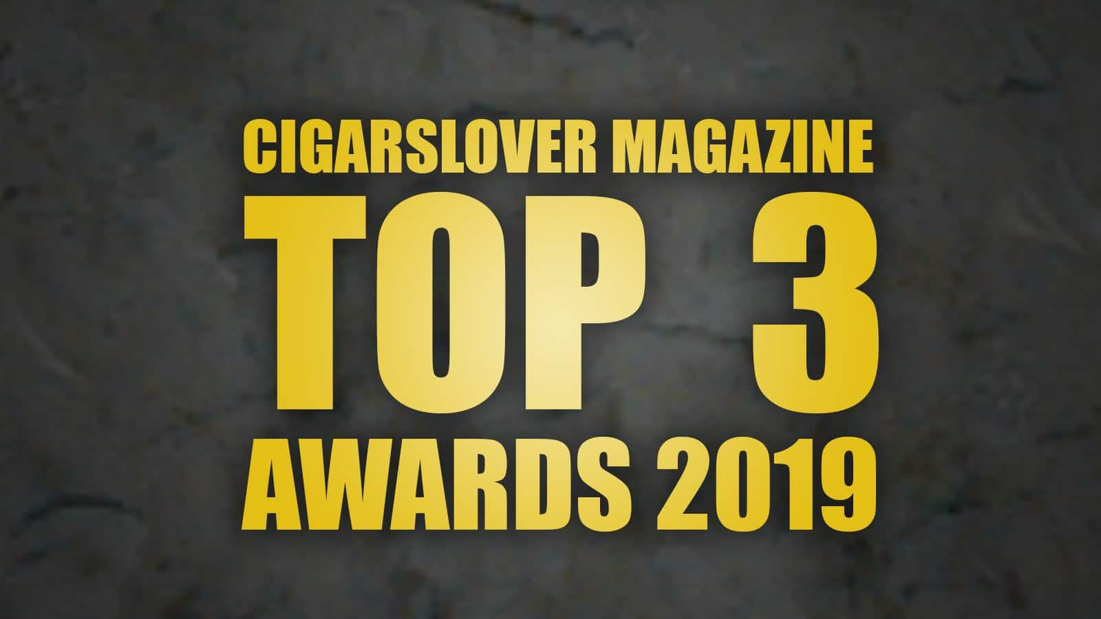 AWARDS 2019 - Svelati i TOP3