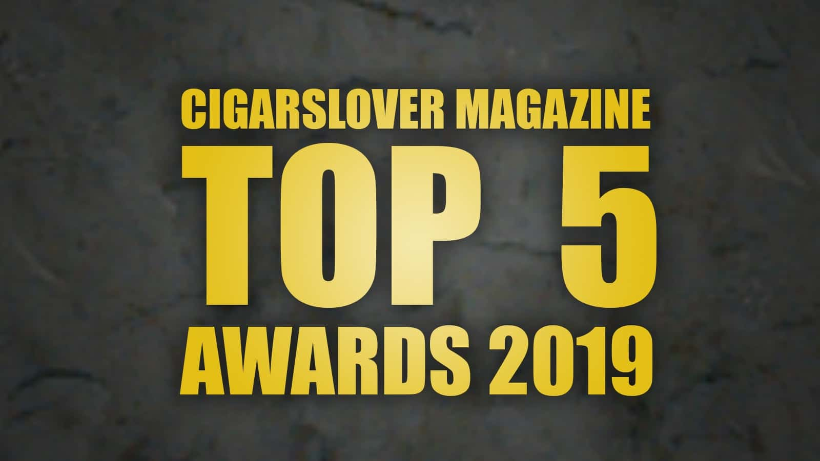 awards 2019 top5