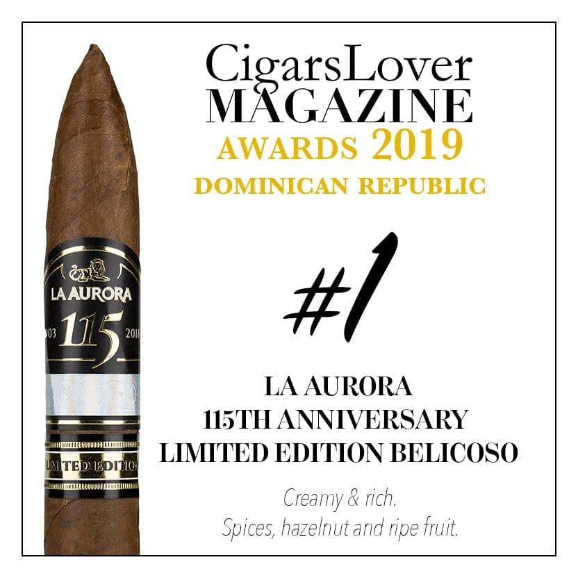La Aurora 115th Anniversary Limited Editon Belicoso