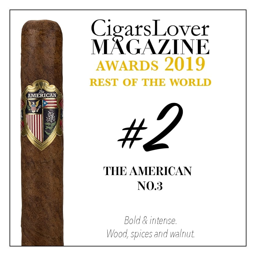 The American No.3