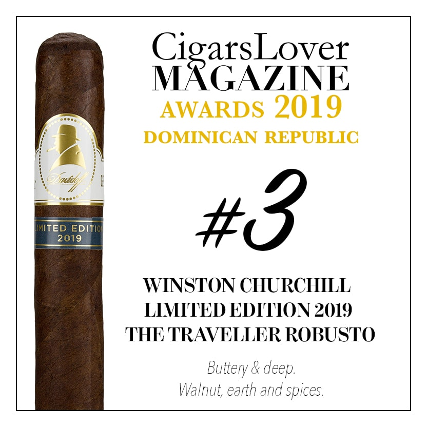 Winston Churchill Limited Edition 2019 The Traveller Robusto