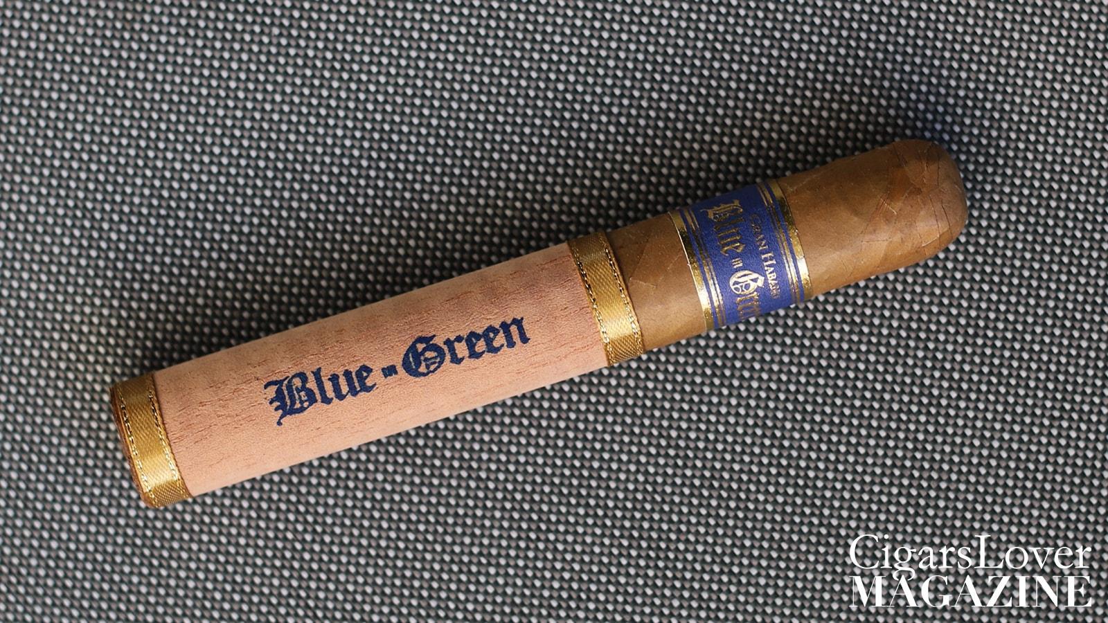 GRAN HABANO BLUE IN GREEN GRAN ROBUSTO