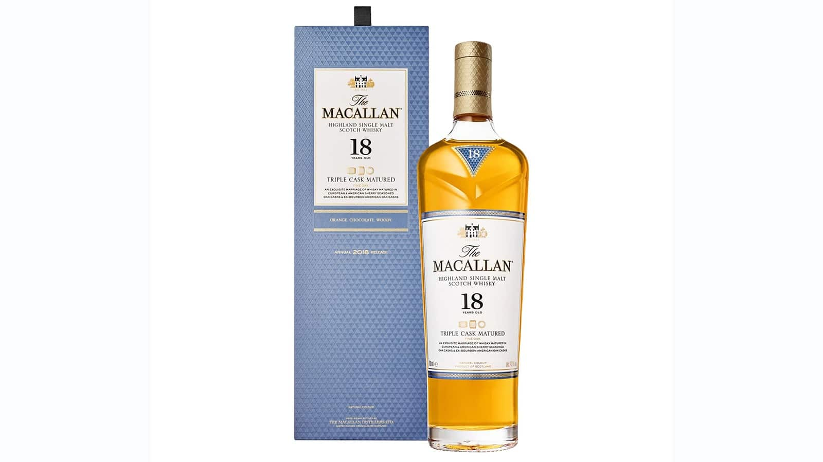 macallan 18 triple cask