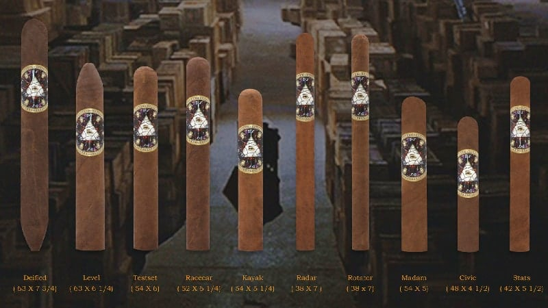 Indianhead cigars: Palindrome