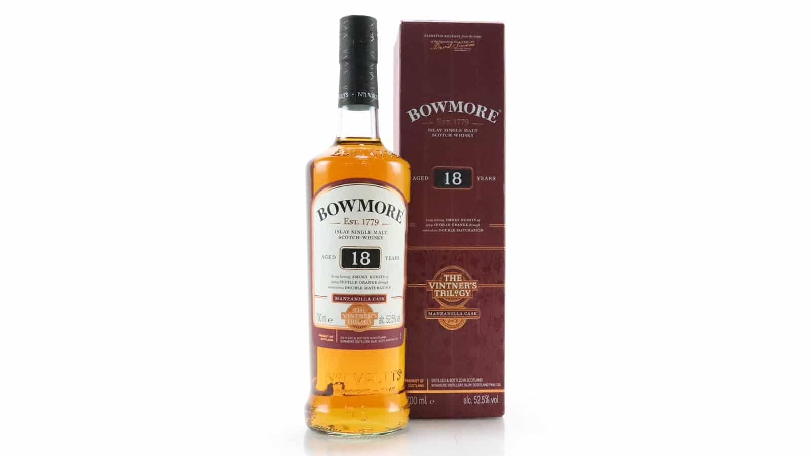 Bowmore 18 Year Old Manzanilla - The Vintner's Trilogy