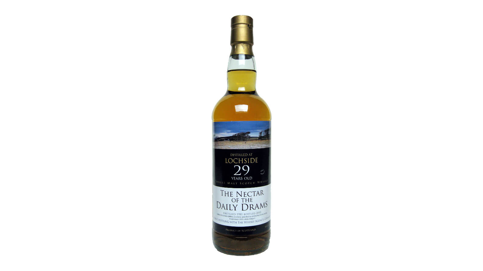 Lochside 1981 The Nectar of Daily Drams