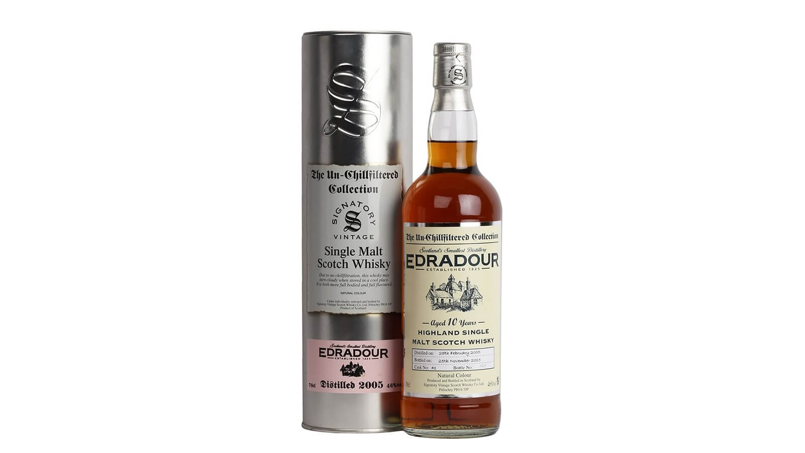 Edradour 10 Years Old 2005 - Signatory