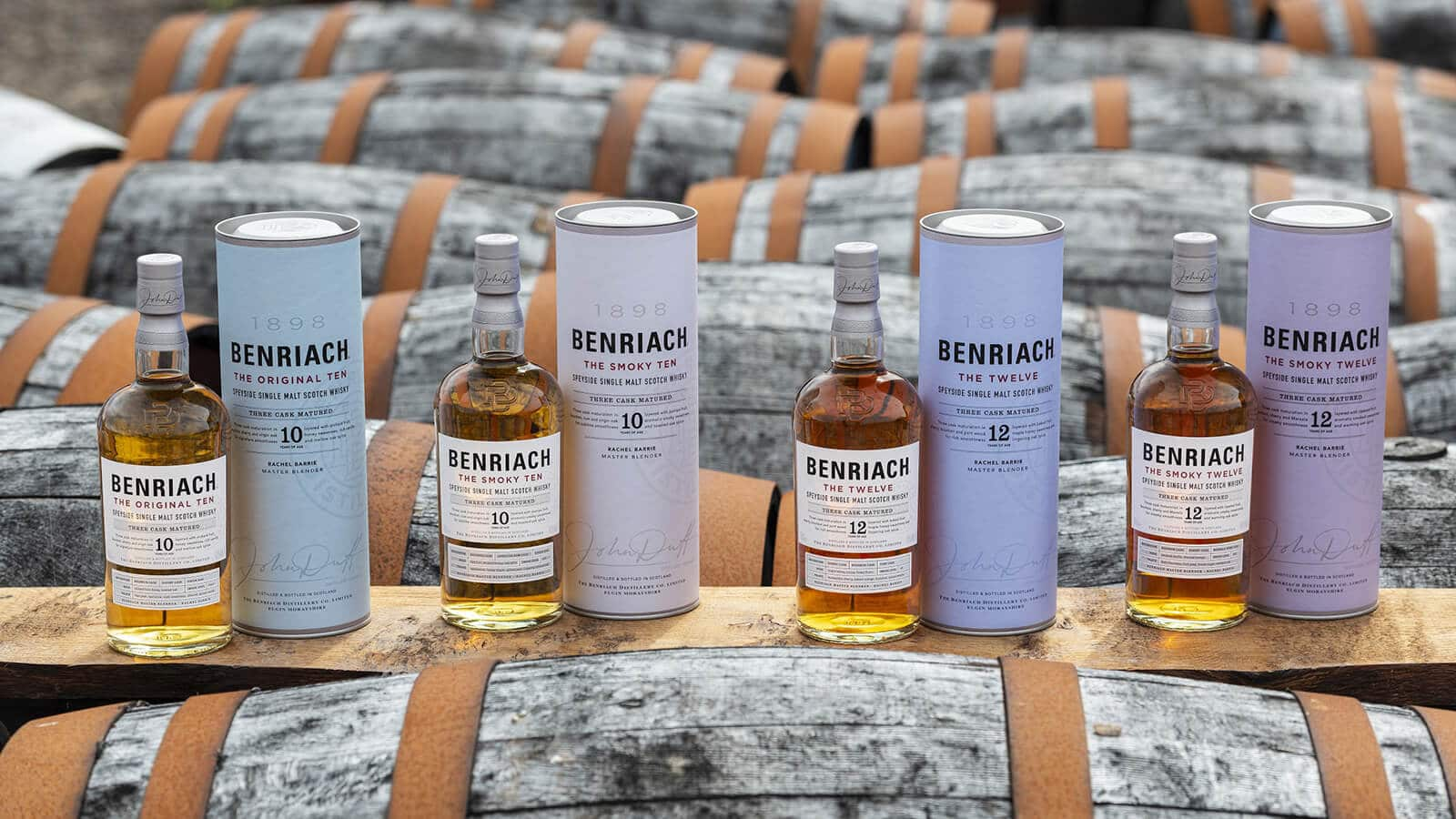 Benriach updates their portfolio with four new core additions