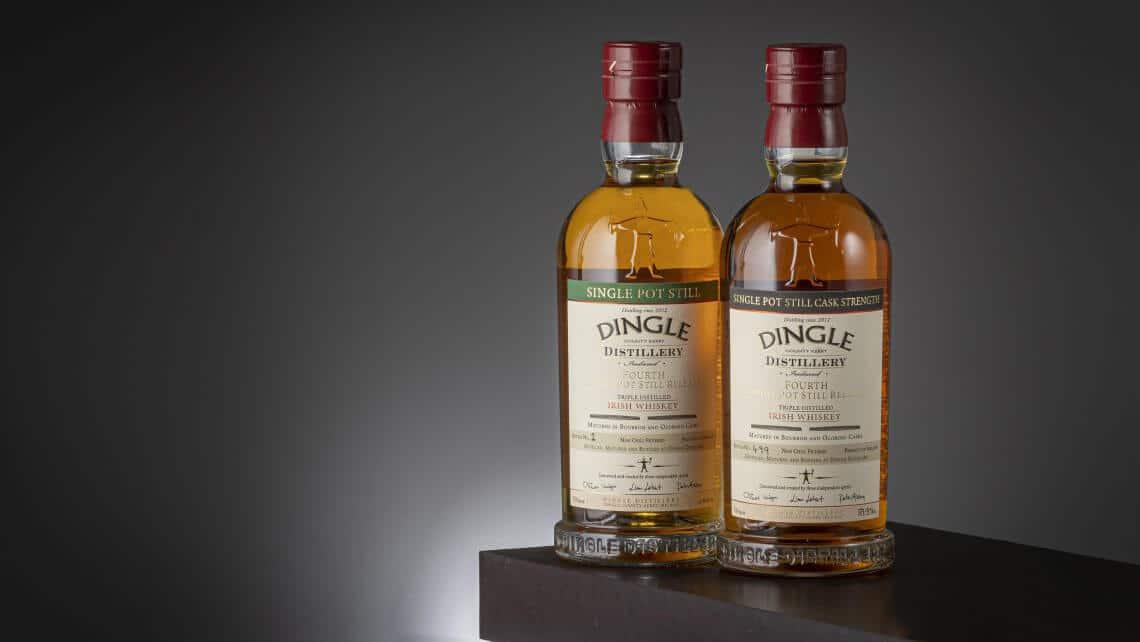 Dingle Distillery's Single Pot Still Batch No. 4 And Cask Strength