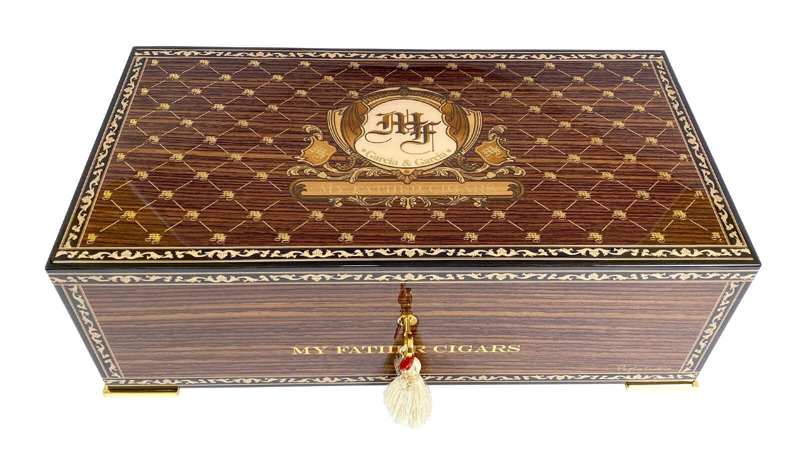 MY FATHER CIGARS ANNOUNCES HUMIDOR DELUXE IN CELEBRATION OF PEPIN'S 70TH BIRTHDAY