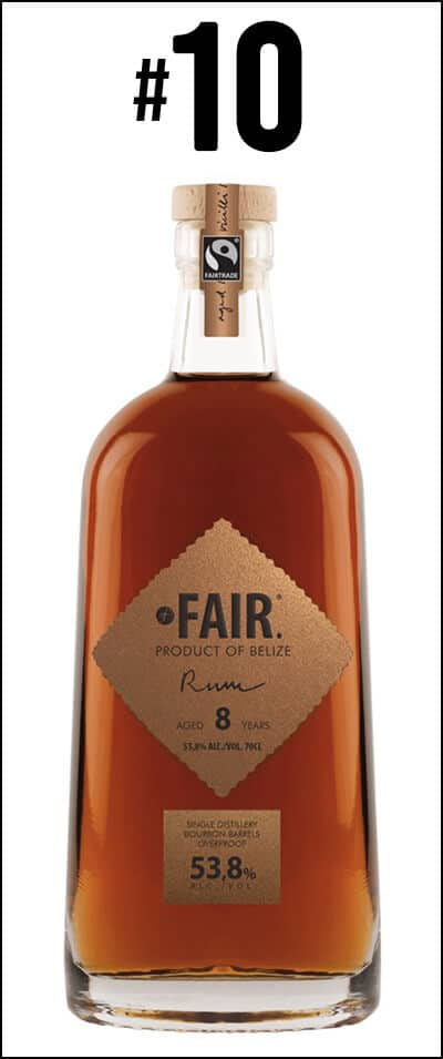 #10 - Fair Rum Belize 8 years old