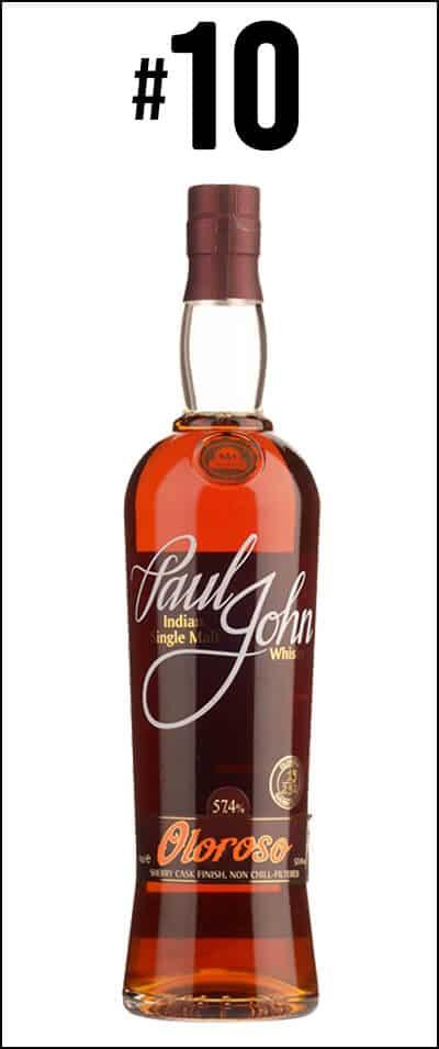 #10 - Paul John Oloroso Select Cask