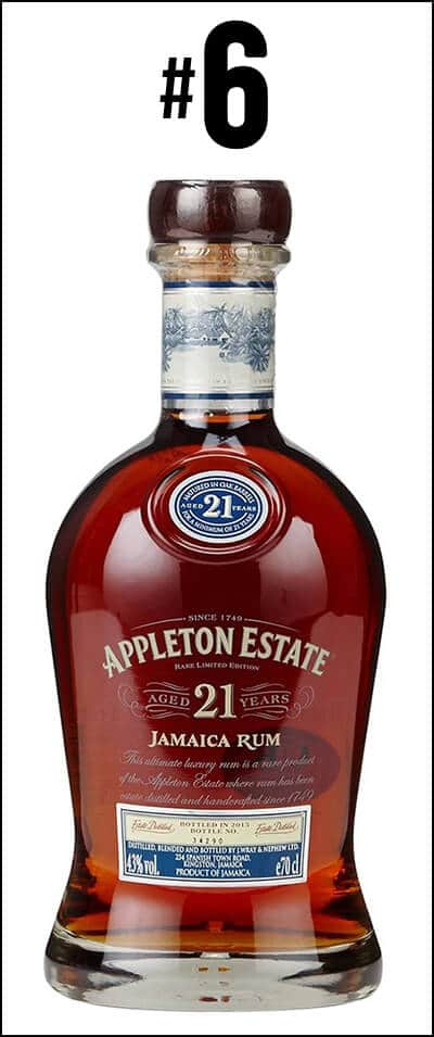 #6 - Appleton Estate 21 years old