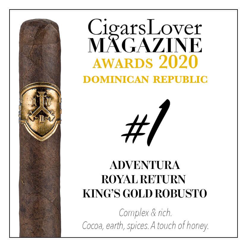 Adventura Royal Return King's Gold Robusto