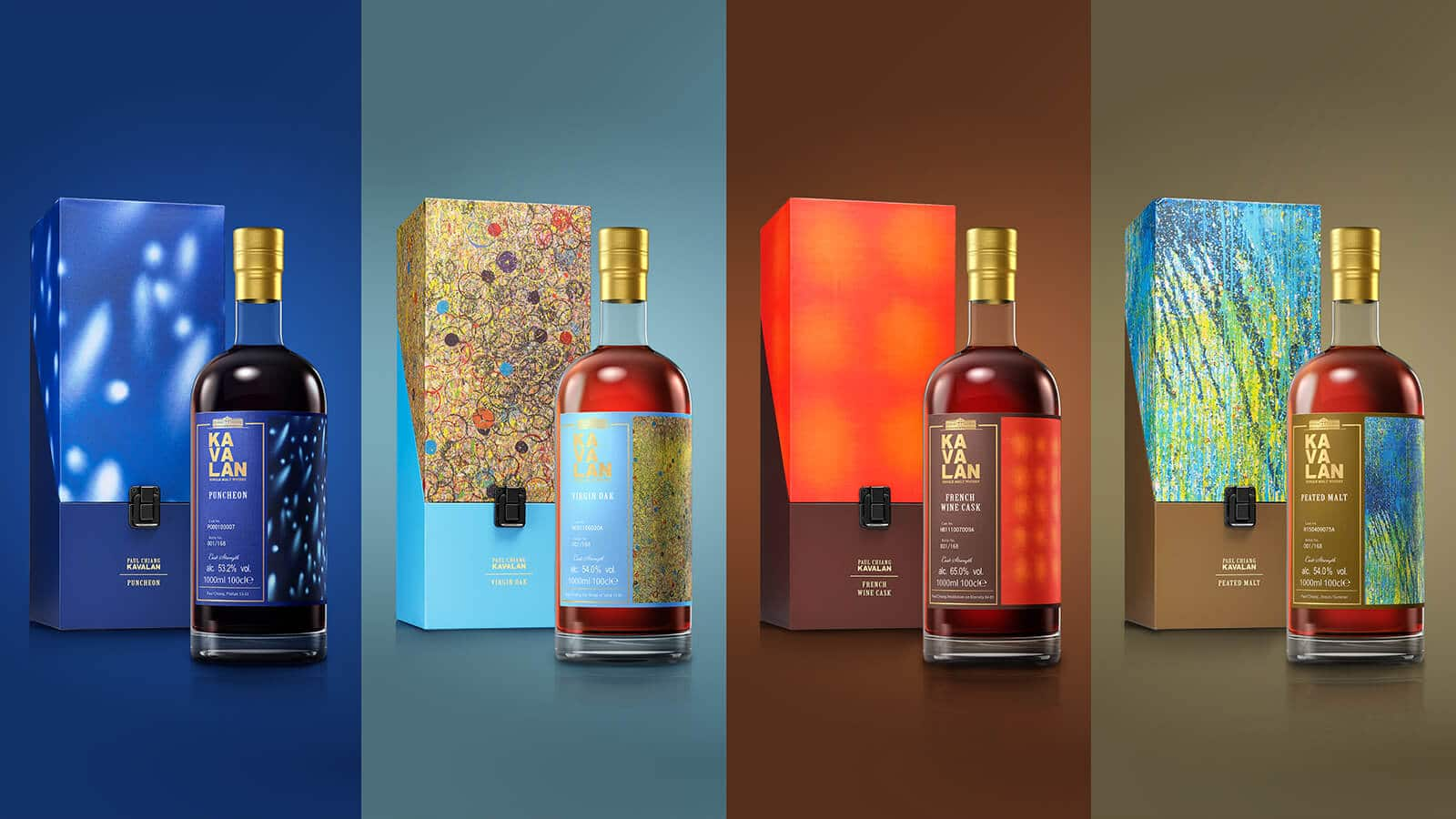 Kavalan Limited Edition Artist Series Collector Set