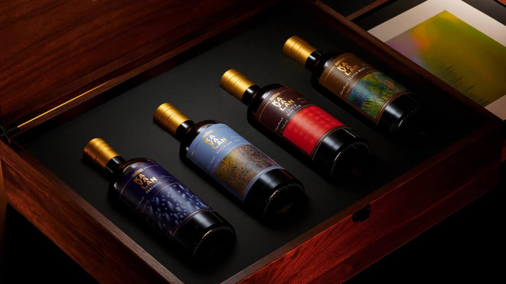 Kavalan Launches Limited Edition Artist Series Collector Set