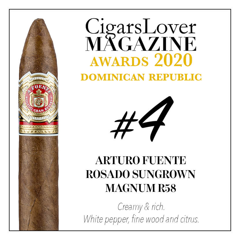 Arturo Fuente Rosado Sungrown Magnum R 58