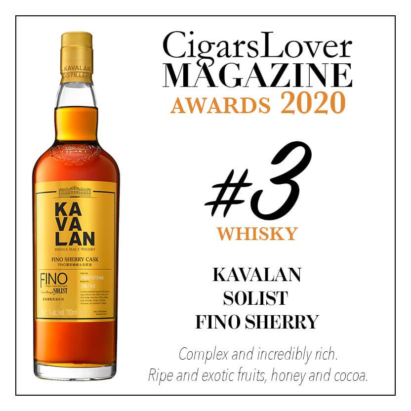 Kavalan Solist Fino Sherry
