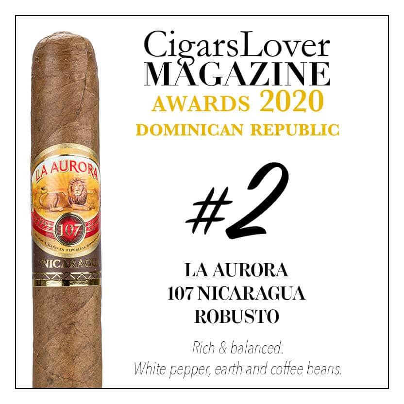La Aurora 107 Nicaragua Robusto