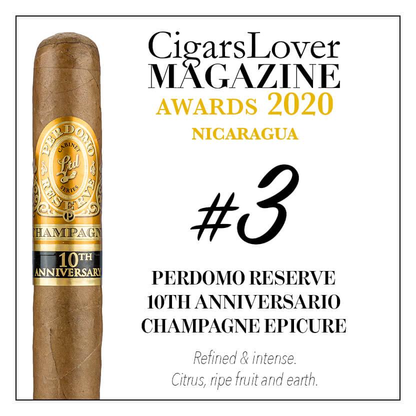 Perdomo Reserve 10th Anniversary Champagne Epicure