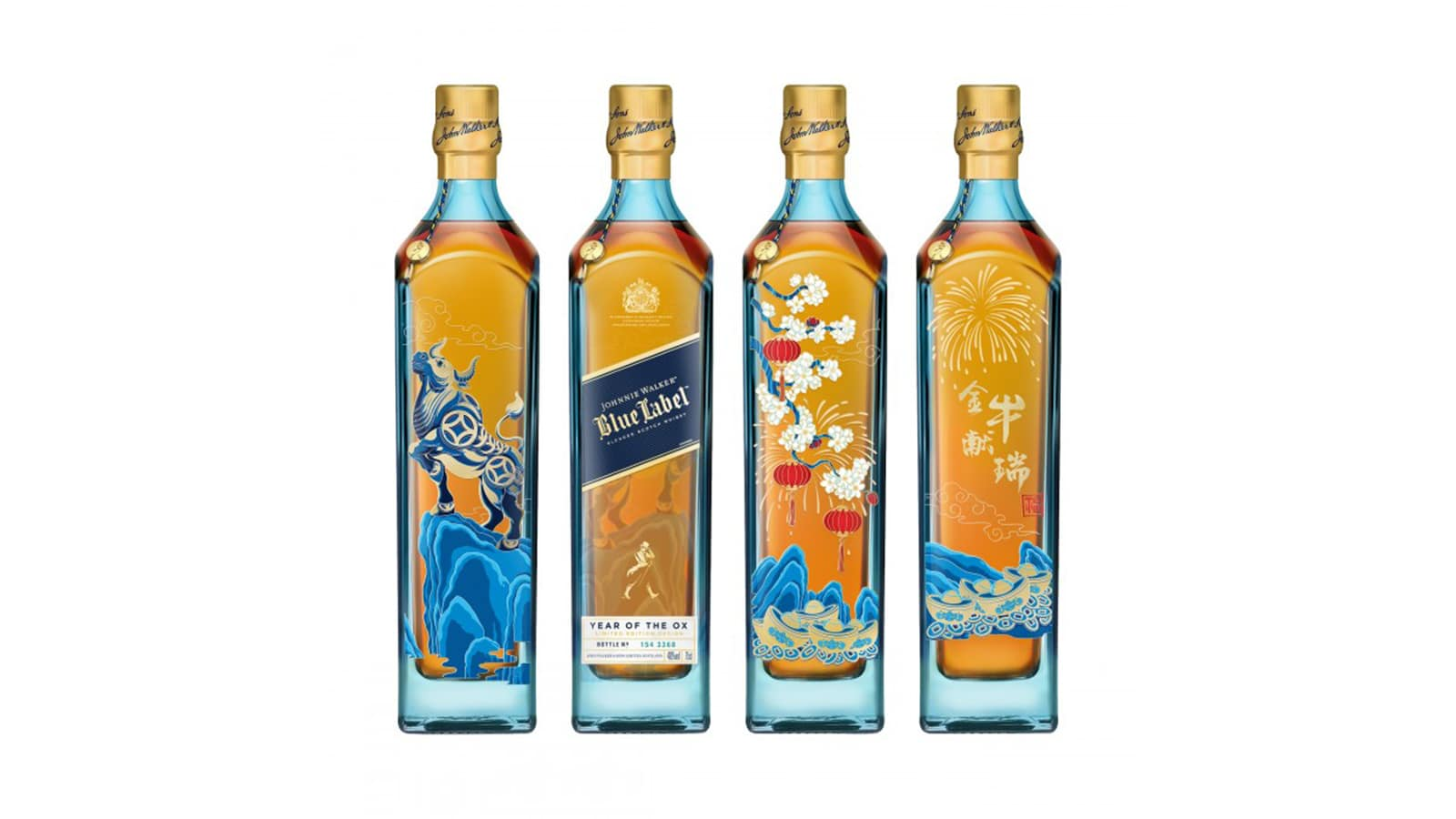 Johnny Walker Blue Label Year of the Ox