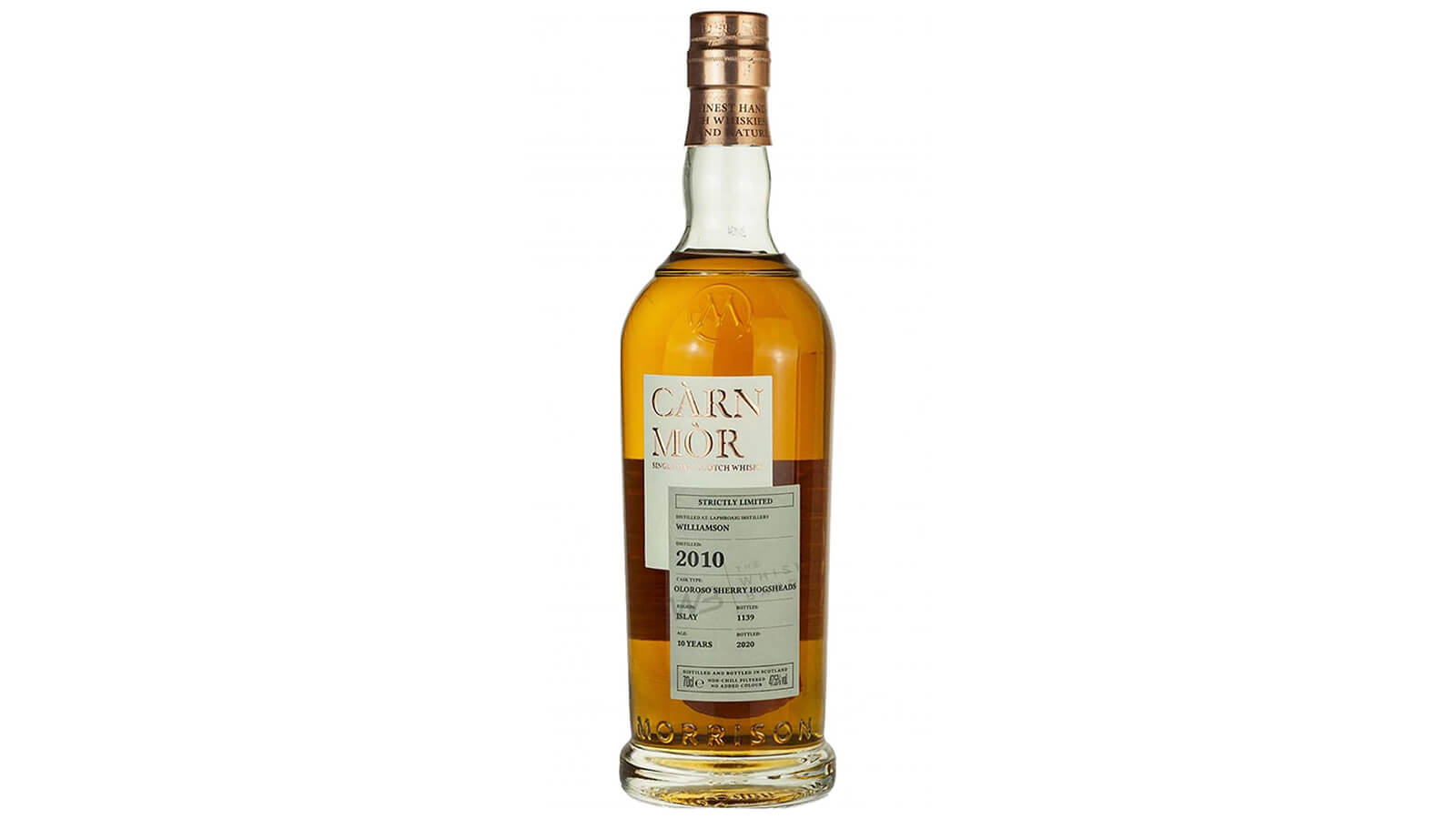 Williamson 10 yo Carn Mor Strictly Limited