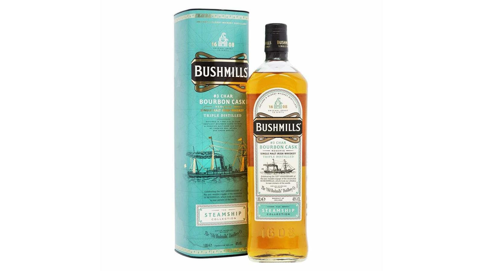 Bushmills Steamship Collection N.3 Charred Bourbon Cask