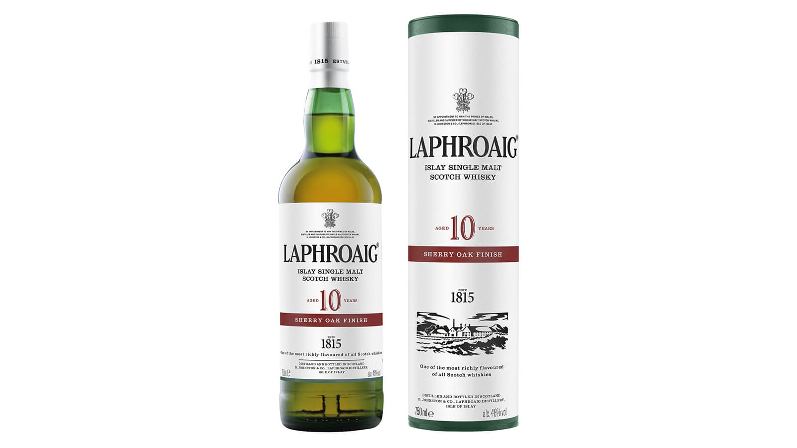 Laphroaig Unveils 10 YO Sherry Oak Finish